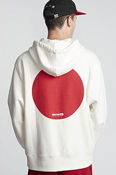 Толстовка Element Tokyo Dot Po Off White