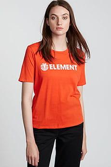 Футболка женская Element Logo Cr Grenadine