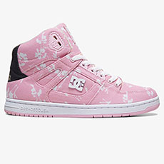 Кеды женские DC Shoes Pure Ht Txse Pink Carnation