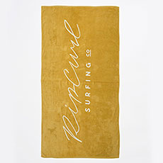Полотенце женское Rip Curl Standard Towel Origin Gold