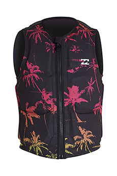 Гидрожилет Billabong Palms Wake Vest Black Neon