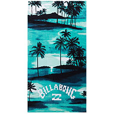 Полотенце Billabong Waves Towel Aqua