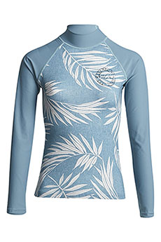 Футболка женская Billabong Для Плавания Surf Capsule Ls Sea Blue