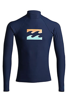 Футболка Billabong Для Плавания Team Wave Ls Navy