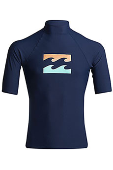 Футболка Billabong Для Плавания Team Wave Ss Navy