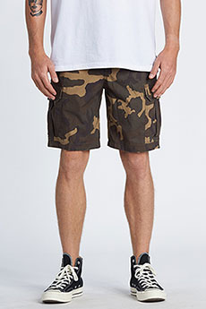Шорты Billabong Scheme Cargo Military Camo