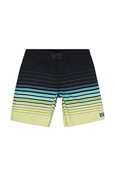 Шорты детские Billabong Для Плавания All Day Stripe Og Bo Lime