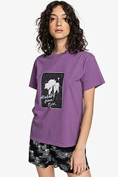 Футболка женская QUIKSILVER Standardsstee W Crushed Grape--35