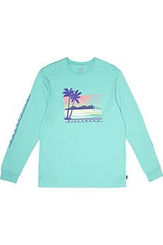 Лонгслив Billabong Coast Line Ls Tee Light Aqua