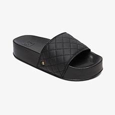 Шлепанцы женские DC Shoes Dcslidepltfrmse J Black/Gold