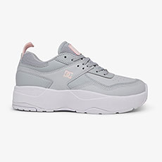 Кроссовки женские DC Shoes E.tribekaplat Grey/Grey/White