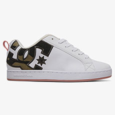 Кеды женские DC Shoes Court Graffik White/Camo