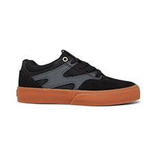 Кеды детские DC Shoes Kalis Vulc Black/Grey