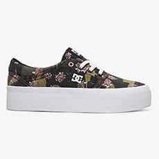 Кеды женские DC Shoes Trasepltfrmtxse Camo White
