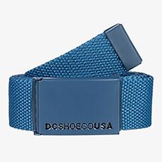 Ремень DC Shoes Web Belt Brm0 Blue Sapphire