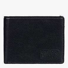 Кошелек QUIKSILVER Slim Folder Black