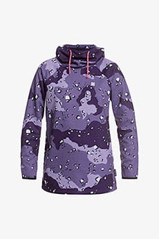 Толстовка женская DC Shoes Salem Fleece Chocolate Chip Grape