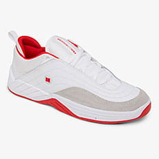 Кроссовки DC Shoes Williams Slim White/Grey/Red