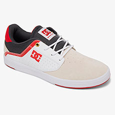 Кеды DC Shoes Plaza Tc Sp White/Grey/Red