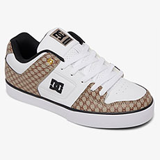 Кеды DC Shoes Pure Se Black/White/Brown