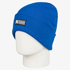 Шапка DC Shoes Label Beanie Iolite Blue