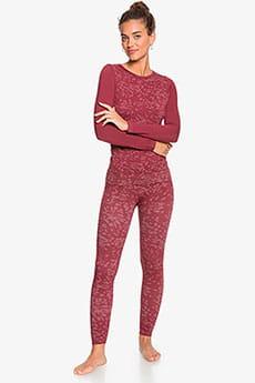 Леггинсы женские Roxy My Way Pants Tibetan Red