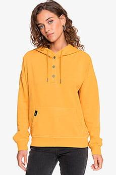 Толстовка женская Roxy Girls Who Slide Mineral Yellow