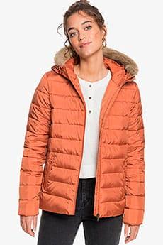 Куртка женская Roxy Rock Peak Fur Auburn