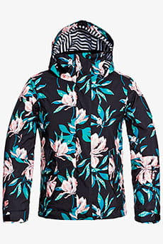 Куртка детская Roxy Jetty Girl True Black Tropical