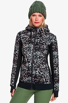Куртка женская Roxy Frost Printed True Black Izi