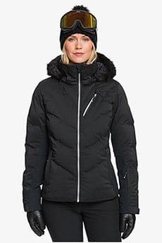 Куртка сноубордическая женская Roxy Snowstorm Snjt True Black