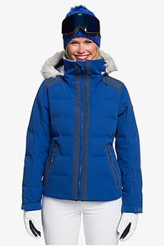 Куртка сноубордическая женская Roxy Clouded Jk Mazarine Blue
