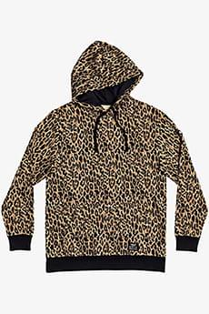 Толстовка женская DC Shoes Rolar Leopard Fade
