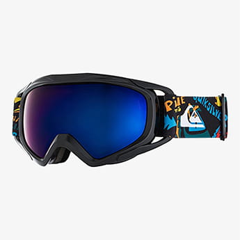 Маска для сноуборда детская QUIKSILVER Eagle True Black