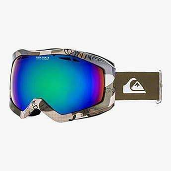 Маска для сноуборда детская QUIKSILVER Fenom Iron Gate Wichita