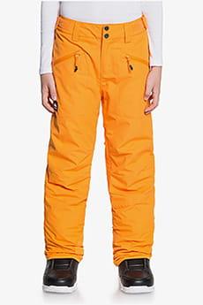 Штаны сноубордические детские QUIKSILVER Boundry Flame Orange