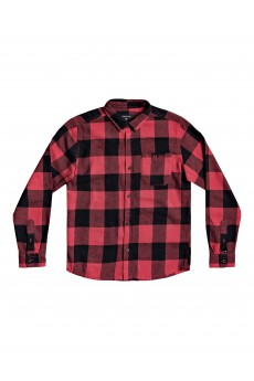 Рубашка детская QUIKSILVER Motherflyflanny Americas Red Motherf