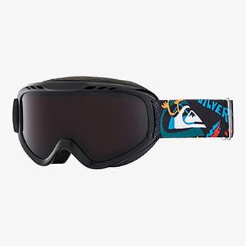 Маска для сноуборда детская QUIKSILVER Flake Goggle Black Ski Fun