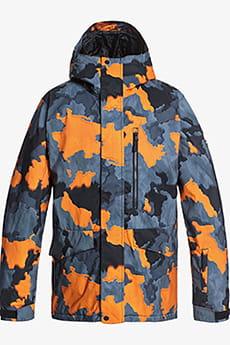Куртка сноубордическая QUIKSILVER Mission Prin Flame Bustin Big