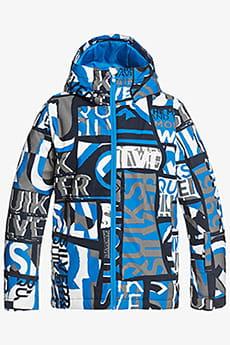 Куртка сноубордическая детский QUIKSILVER Mission Brilliant Blue Isere