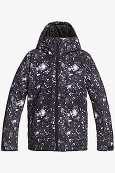 Куртка сноубордическая детский QUIKSILVER Mission Black Woolflake