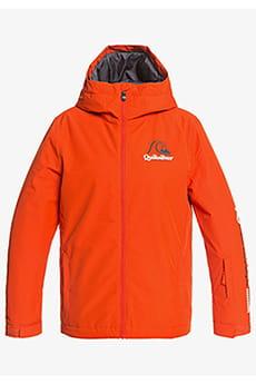 Куртка сноубордическая детский QUIKSILVER In The Hood Pureed Pumpkin