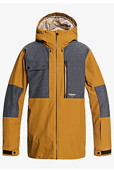 Куртка сноубордическая QUIKSILVER Tamarack Bronze Brown