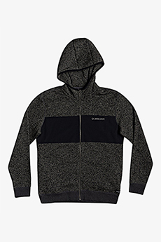 Толстовка QUIKSILVER Kellerhznylo Dark Grey Heather
