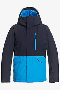 Куртка Сноубордическая QUIKSILVER Mission S Yth B Snjt Bnl0 Brilliant Blue