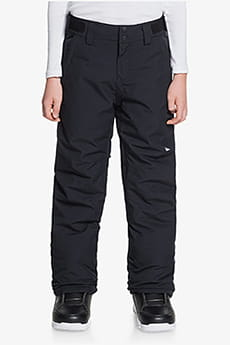 Брюки Сноубордические QUIKSILVER Estate Yth Pt B Snpt Kvj0 True Black