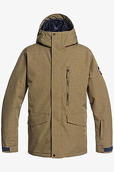 Куртка Сноубордическая QUIKSILVER Mission Soli Jk M Snjt Cqw0 Military Olive