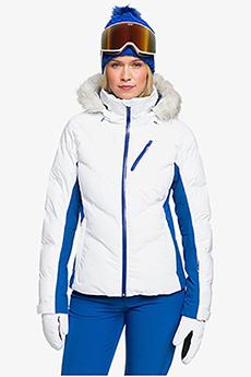 Куртка ROXY Сноубордическая Snowstorm Jk J Snjt Wbb0 Bright White