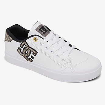 Кеды женские DC Shoes Chelsea Plus White/Tan