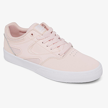 Кеды женские DC Shoes Kalis Vulc Light Pink